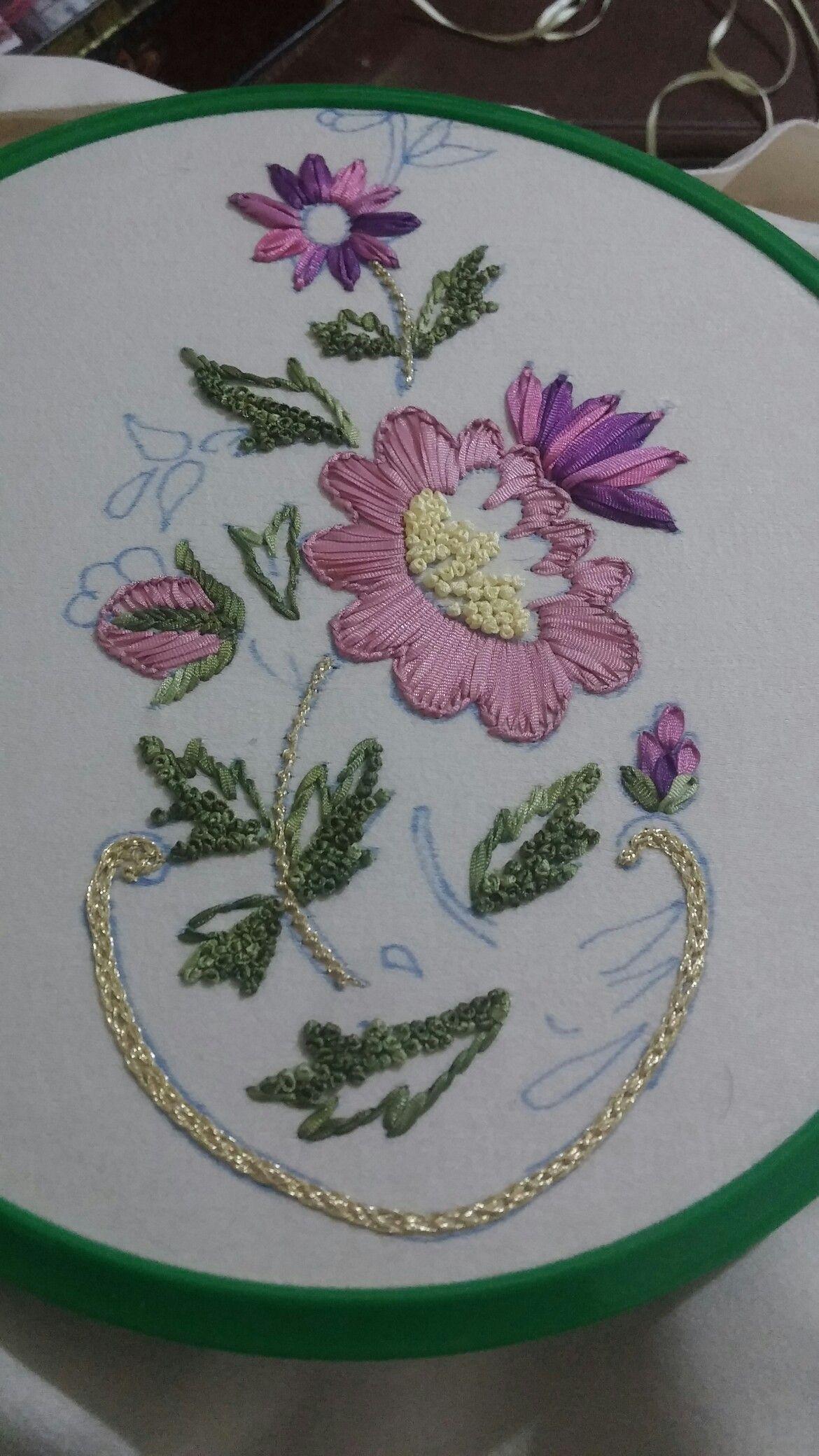 Pin de Rosa Silvia Pave en Bordado   Pinterest   Bordado, Puntadas y ...
