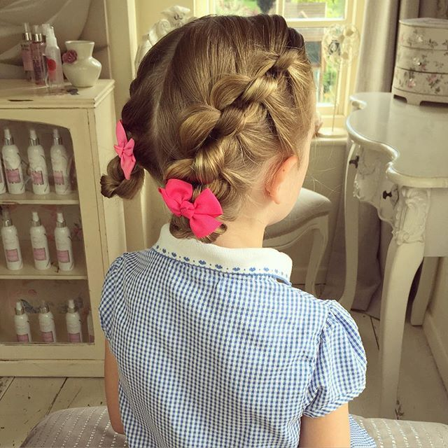 Keep Your Kids Lice Free With These Stylish Hairdo Ideas Hair Styles Sweethearts Hair Design Braids For Short Hair