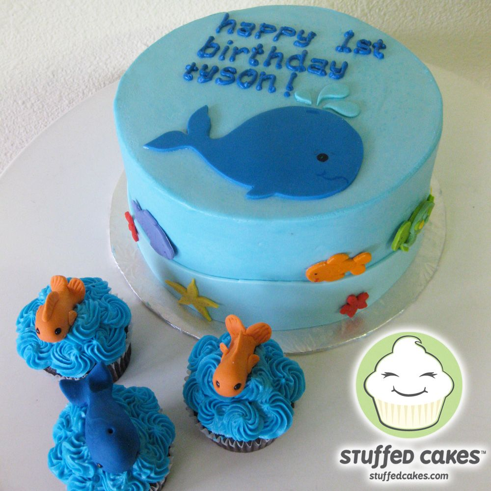Whale Of A Good Cake wwwStuffedCakescom Custom Cakes Seattle WA