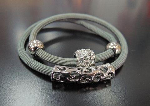 Bracelet Hair Tie Grey – The Devitt Union