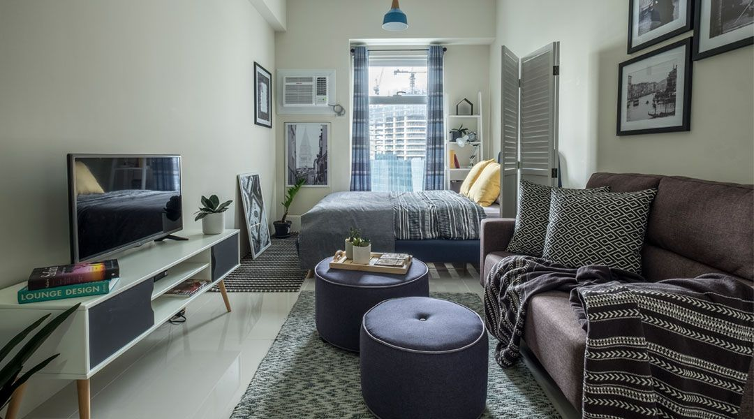 Styling on  budget is no big deal in this sqm also rental condo rh pinterest