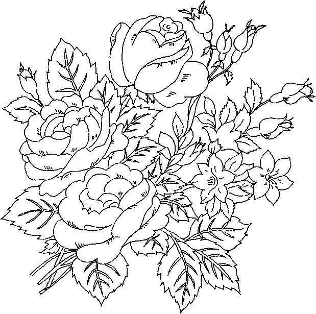 flower coloring sheets | ADULT COLORING BOOKS | Pinterest | Flower ...