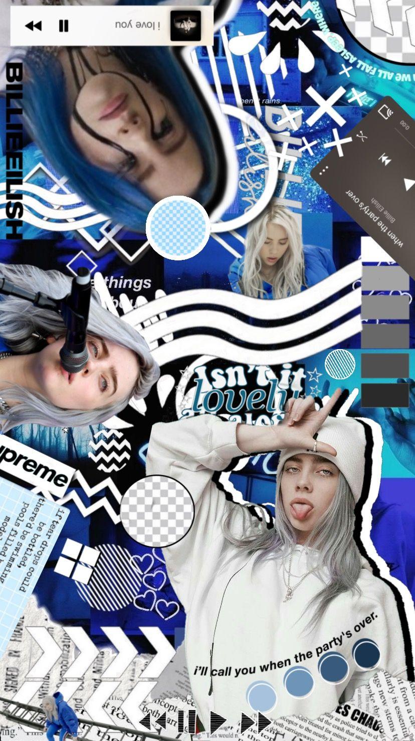 Billie Eilish Blue Wallpaper Billie Eilish Billie Blue Wallpapers