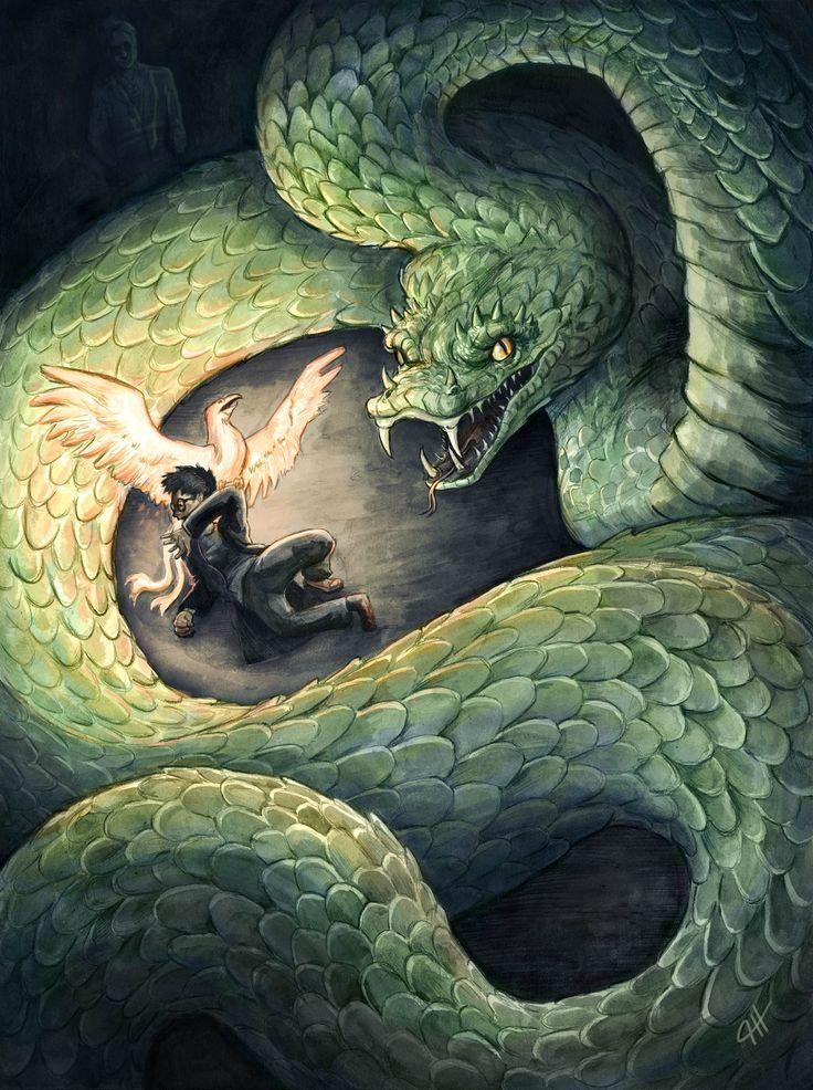 Chamber Of Secrets Basilisk Harry Potter Harry Potter Illustrations Basilisk Harry Potter Harry Potter Artwork