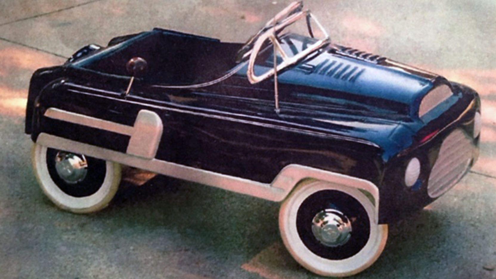 1950 S Tri Ang Chevy Pedal Car Presented As Lot B44 At Kissimmee Fl