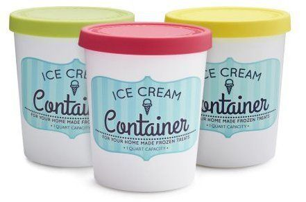 3 Reusable Storage Containers for Your Homemade Ice Cream | Ice cream  containers, Ice cream tubs, Homemade chocolate ice cream