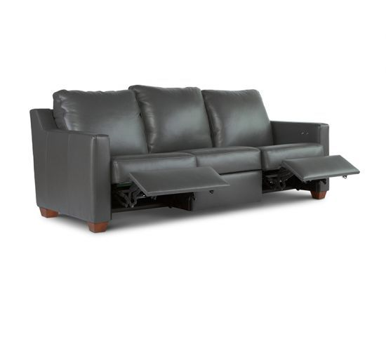 7000 Series Motion Furniture Reclining Sofa By Elite Leather