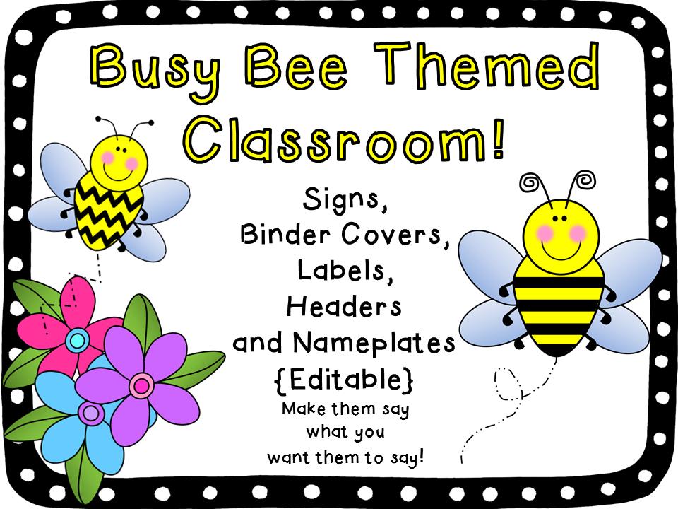 Bee Theme Classroom