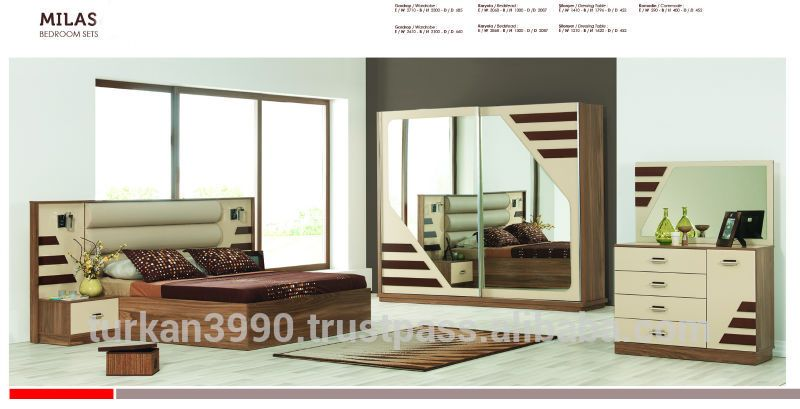 Bedroom Set Milas - Buy Bedroom Furniture Sets,Modern Bedroom Sets - Italian Bedroom Sets