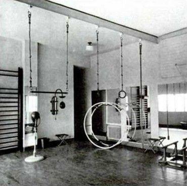 villa noailles salle de gymnastique hy res by robert mallet stevens 1926 1927 garden by. Black Bedroom Furniture Sets. Home Design Ideas