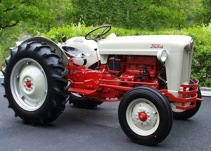 1953 Ford Jubilee Tractors Vintage Tractors 8n Ford Tractor