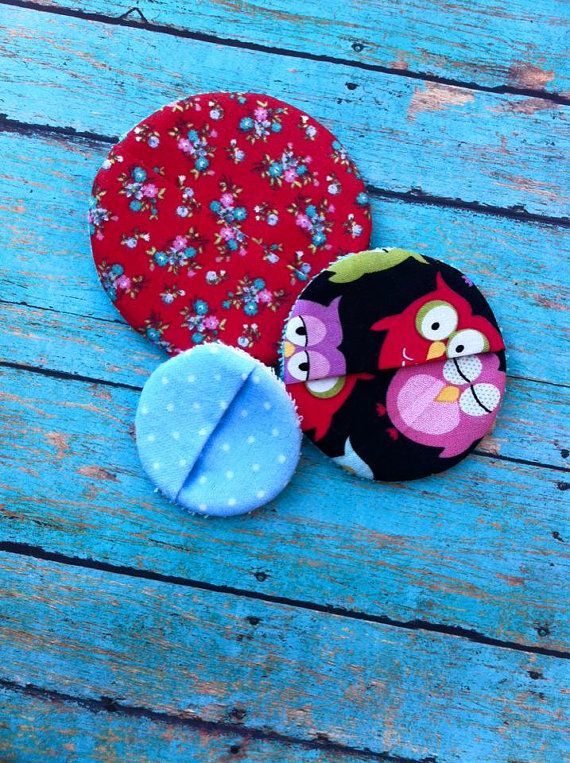 ITH Reusable MakeUp Remover Cloth Pads DIGITAL Embroidery