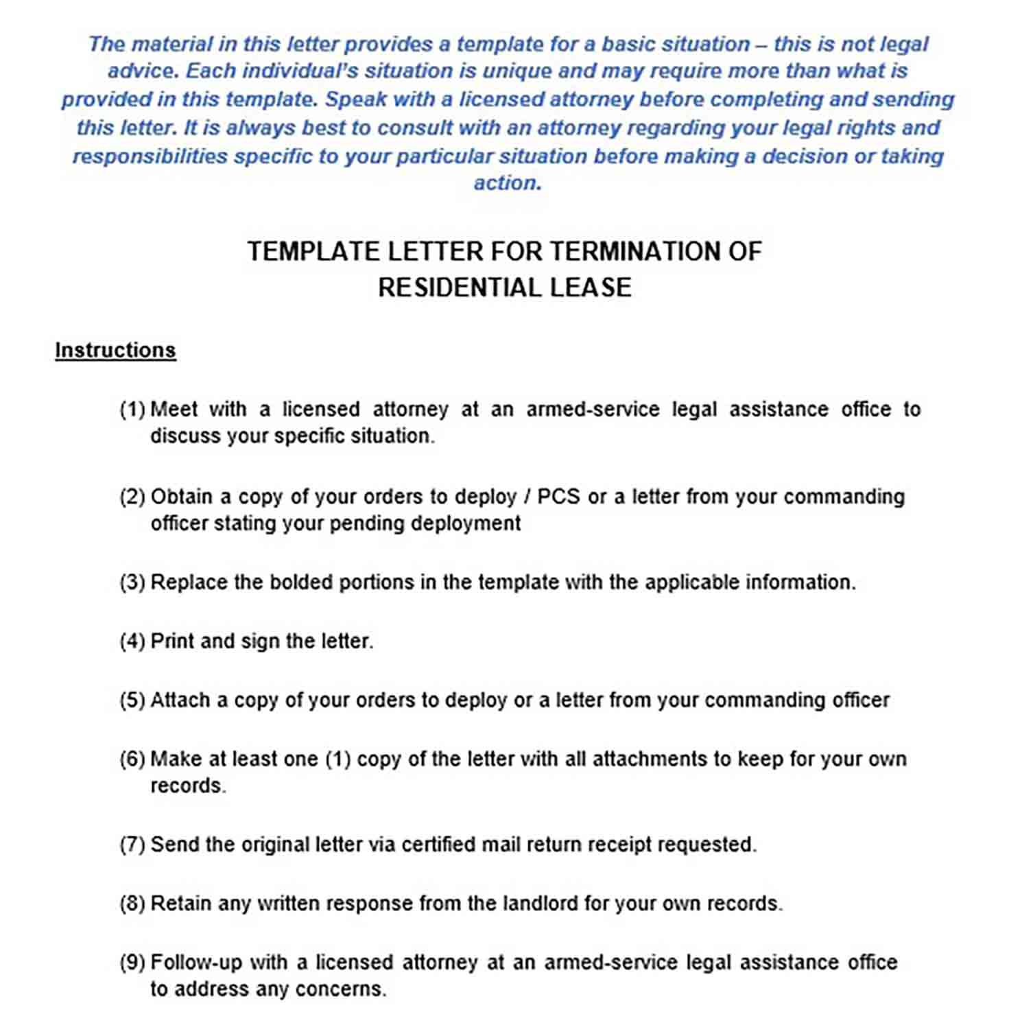 17 Lease Termination Letter Example For Doc Pdf And Word Check More At Http Moussyusa Com Lease Termination Le Word Check Letter Example Business Template