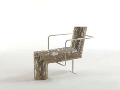 Andrea Branzi (1938, Florence) is a designer, architect, theorist, teacher, curator and publisher who's studio is in Milan, this is his 'anti-comfort' chair.