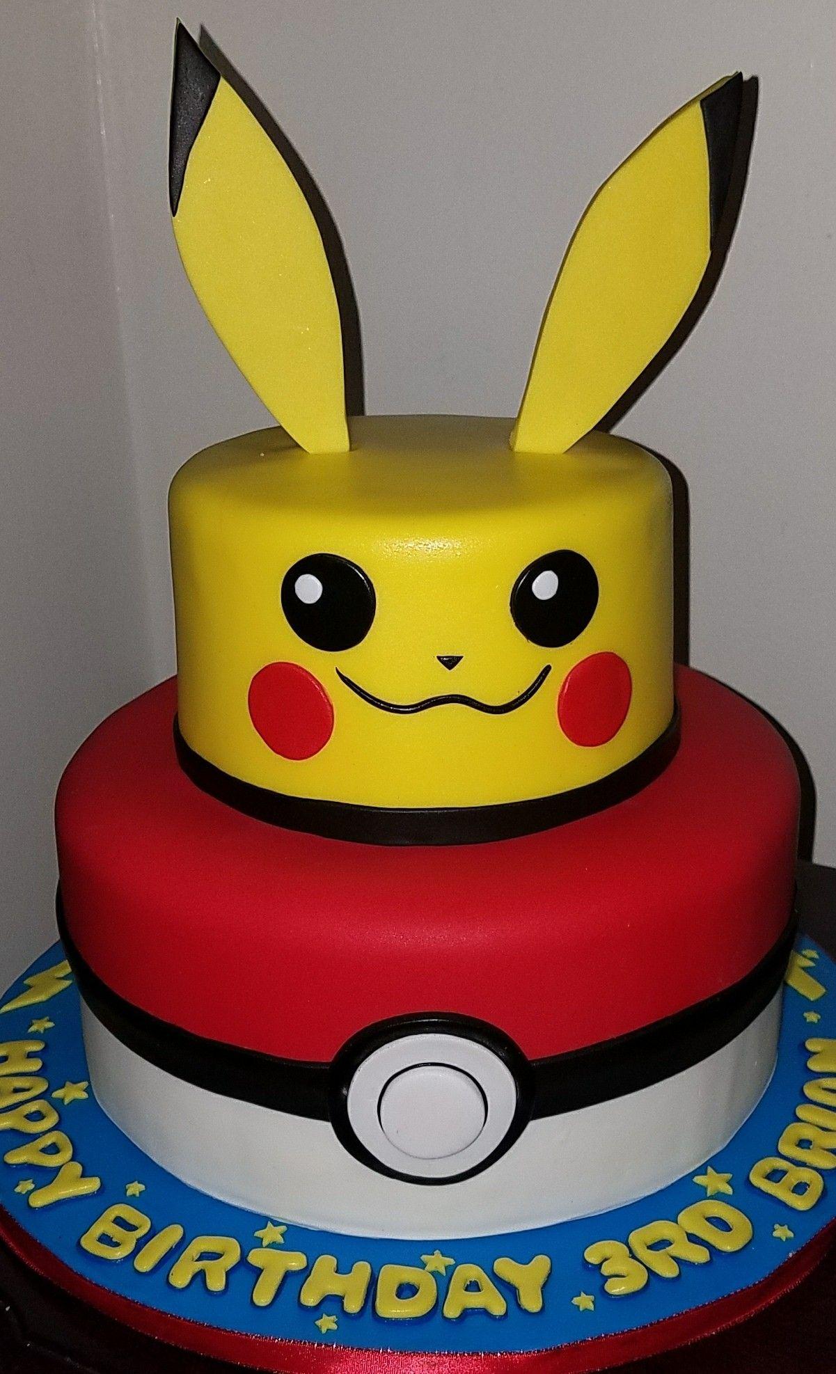 Pikachu Cake Ideas