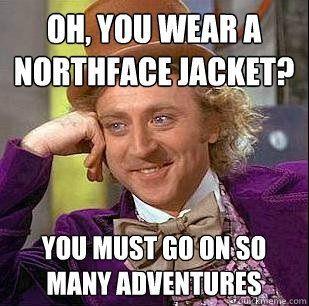 northface hahaha