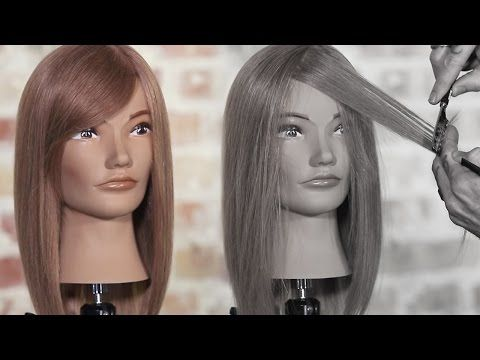 How to Create Face Framing Layers with a Razor - YouTube (With images)   Face framing layers ...