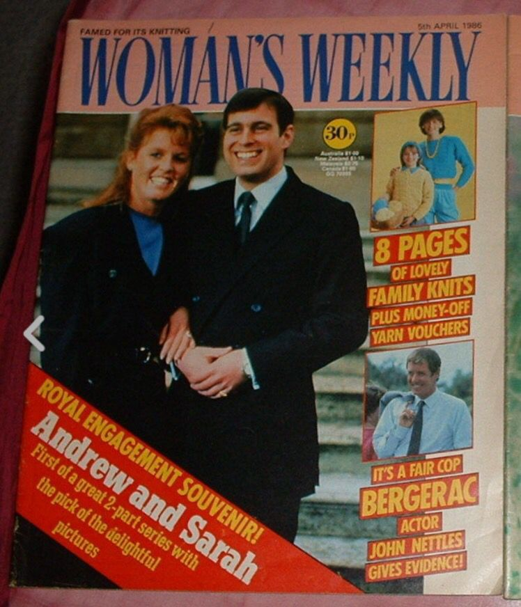 WOMANS WEEKLY MAGAZINES 1986