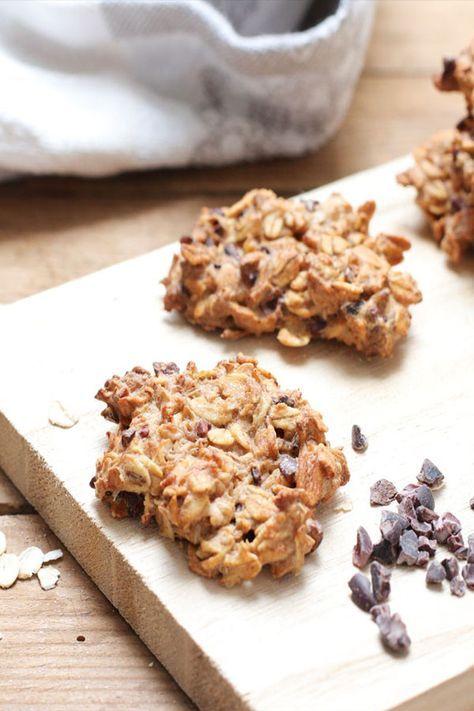 Porridge Cookies Vegan Und Zuckerfrei Mit Clean Eating Backen Rezept Zuckerfreie Kekse Zuckerfreie Rezepte Zuckerfrei
