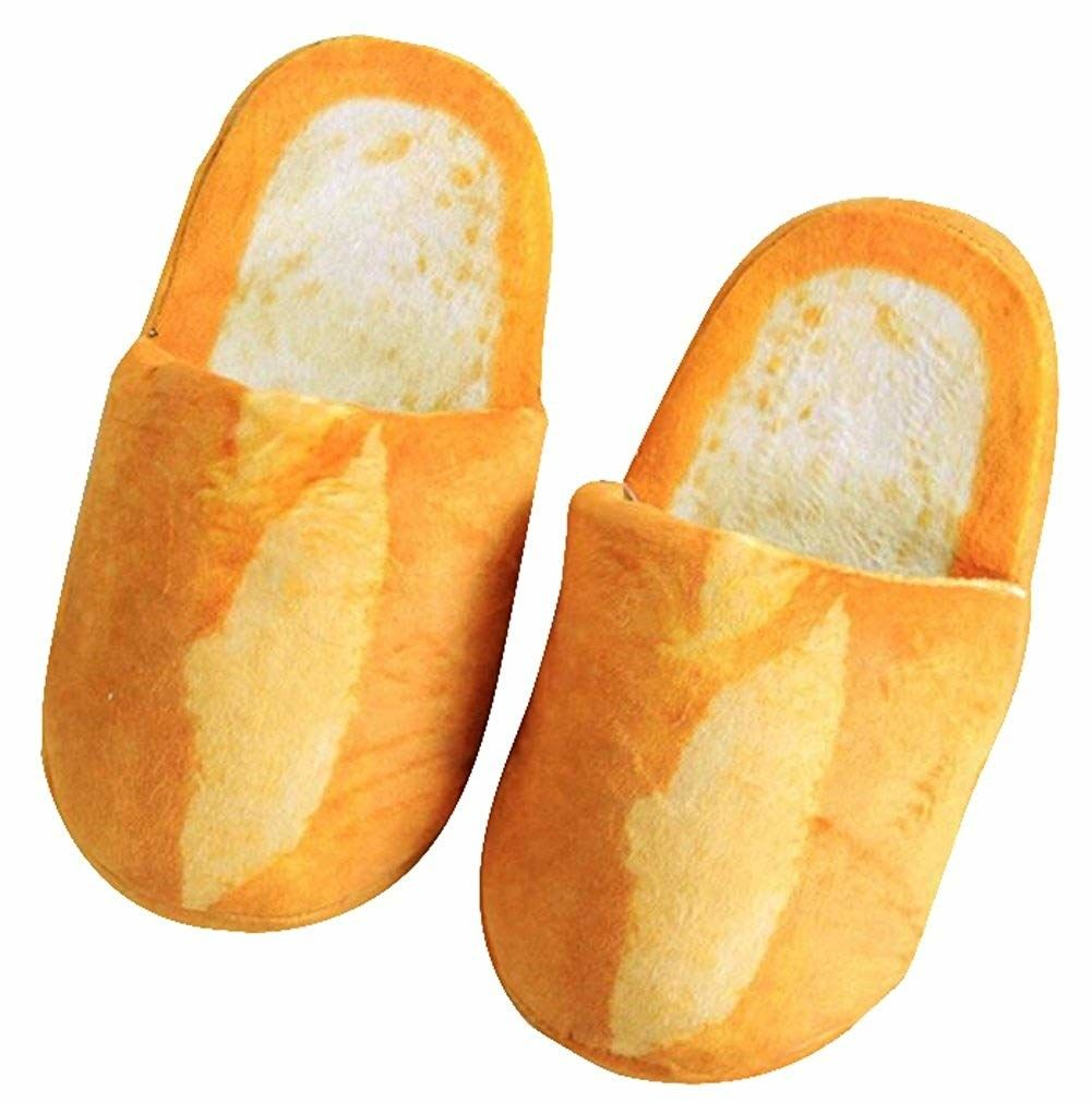ac96aa7f4168 Bread slippers for keeping your toes warm and toasty. Just 31 Cheap And  Weird Things