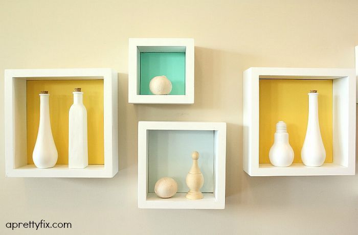 DIY Cubby Wall Display | Half walls, Display and Walls