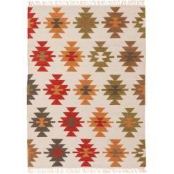 Photo of benuta Naturals Handgewebter Kelim Zohra Multicolor/Beige 70×140 cm – Moderner Bunter Teppich für Wo