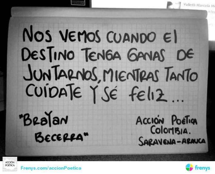 Acción Poética Acción Poética Colombia Frases Accion