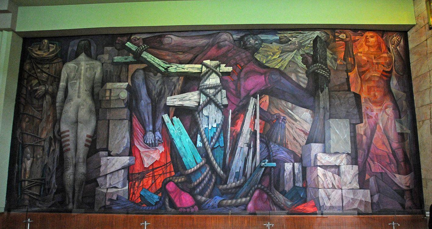 Liberacion Jorge Gonzalez Camarena 1963 Palacio De Bellas Artes