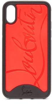 4b3591098486 Christian Louboutin - Loubiphone Rubber Iphone® X Case - Mens - Black Red