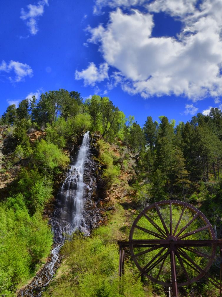 Here Is The Ultimate Colorado Waterfalls Road Trip See The Map - Colorado waterfalls map