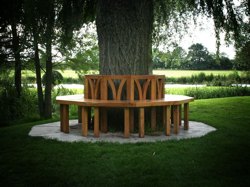 Oh! We used to have a tree bench in the backyard of the