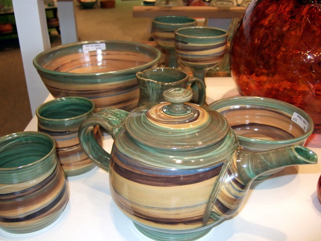 Swirl Pottery By Chris Snedden Available At Gift Of Art
