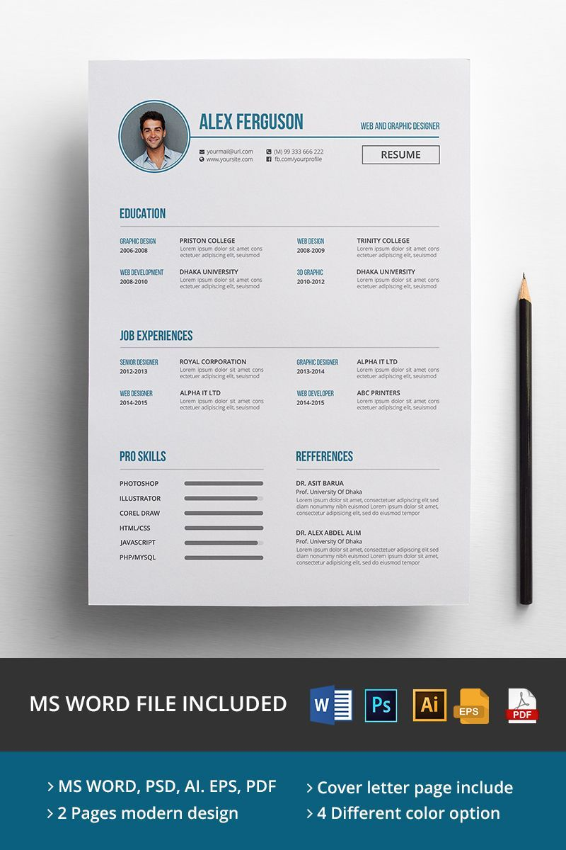 Alex ferguson cv resume template 65143 cv resume
