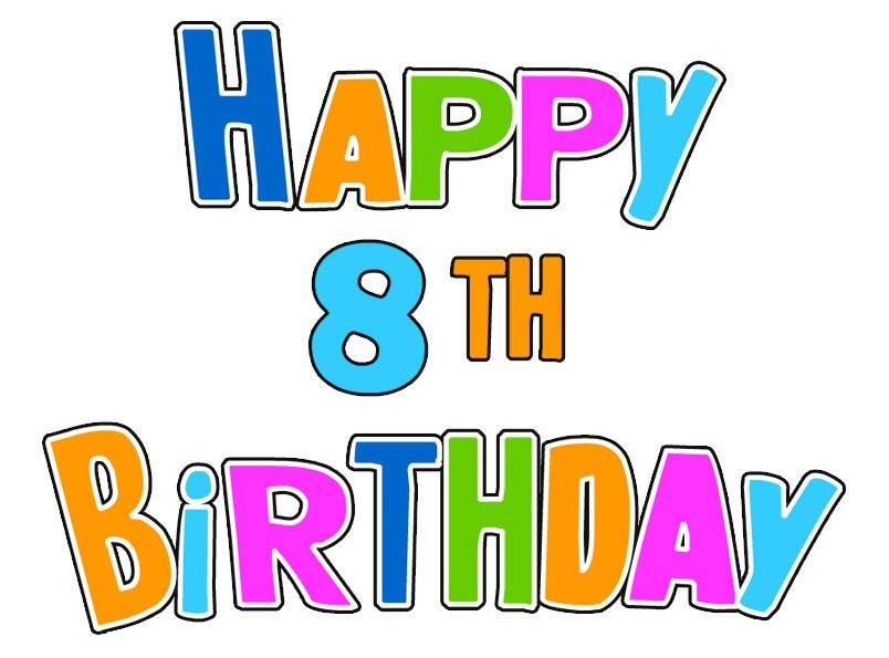 Happy 8th birthday birthday cards wishes images greetings and happy 8th birthday birthday cards wishes images greetings and 8th birthday bookmarktalkfo Image collections
