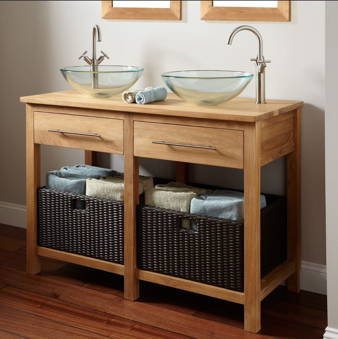 Can Anyone Identify The Wood Used To Build This Vanity