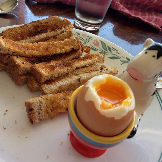 Perfect dipping eggs !