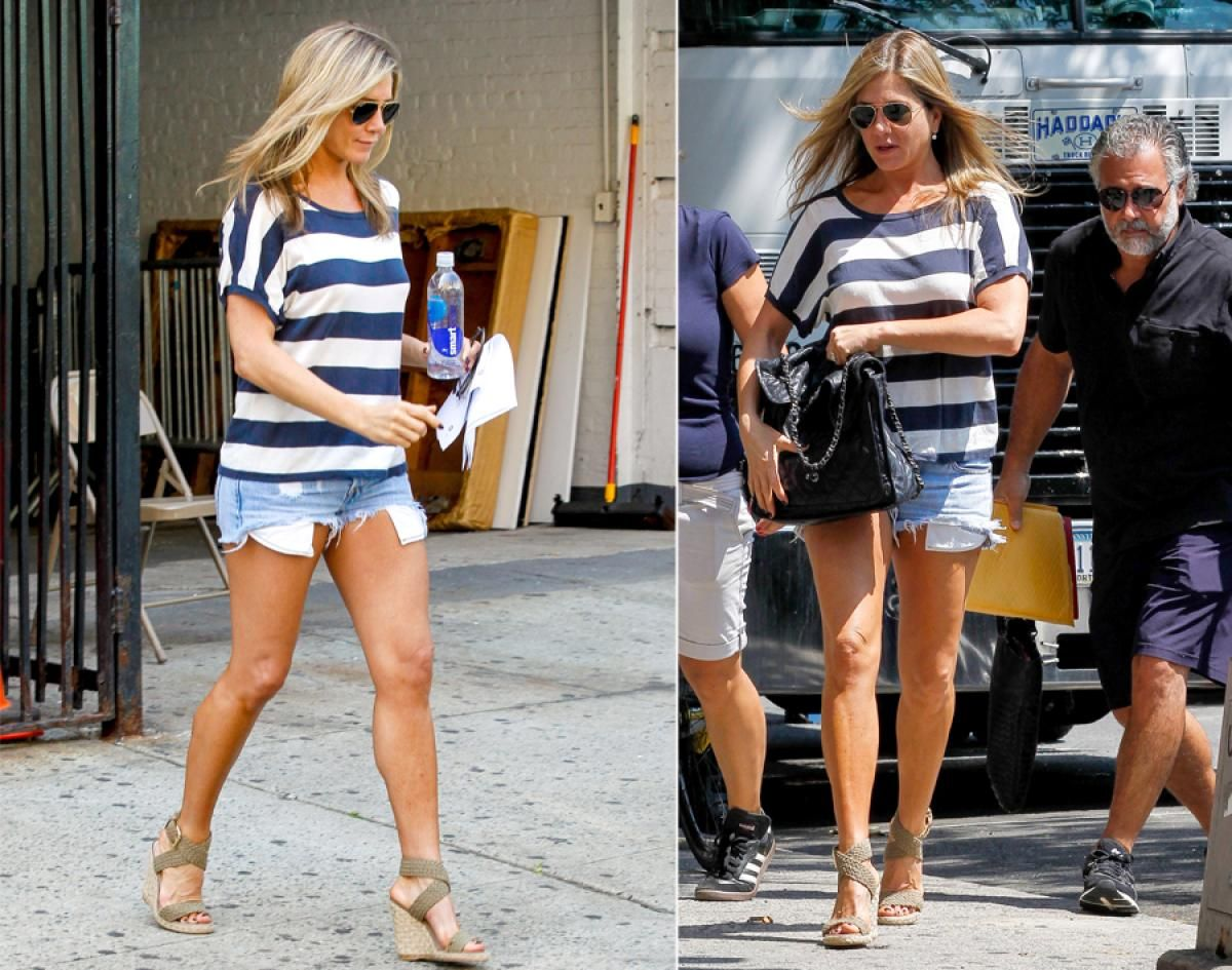 Jennifer Aniston Photos Celebrities Wearing Short
