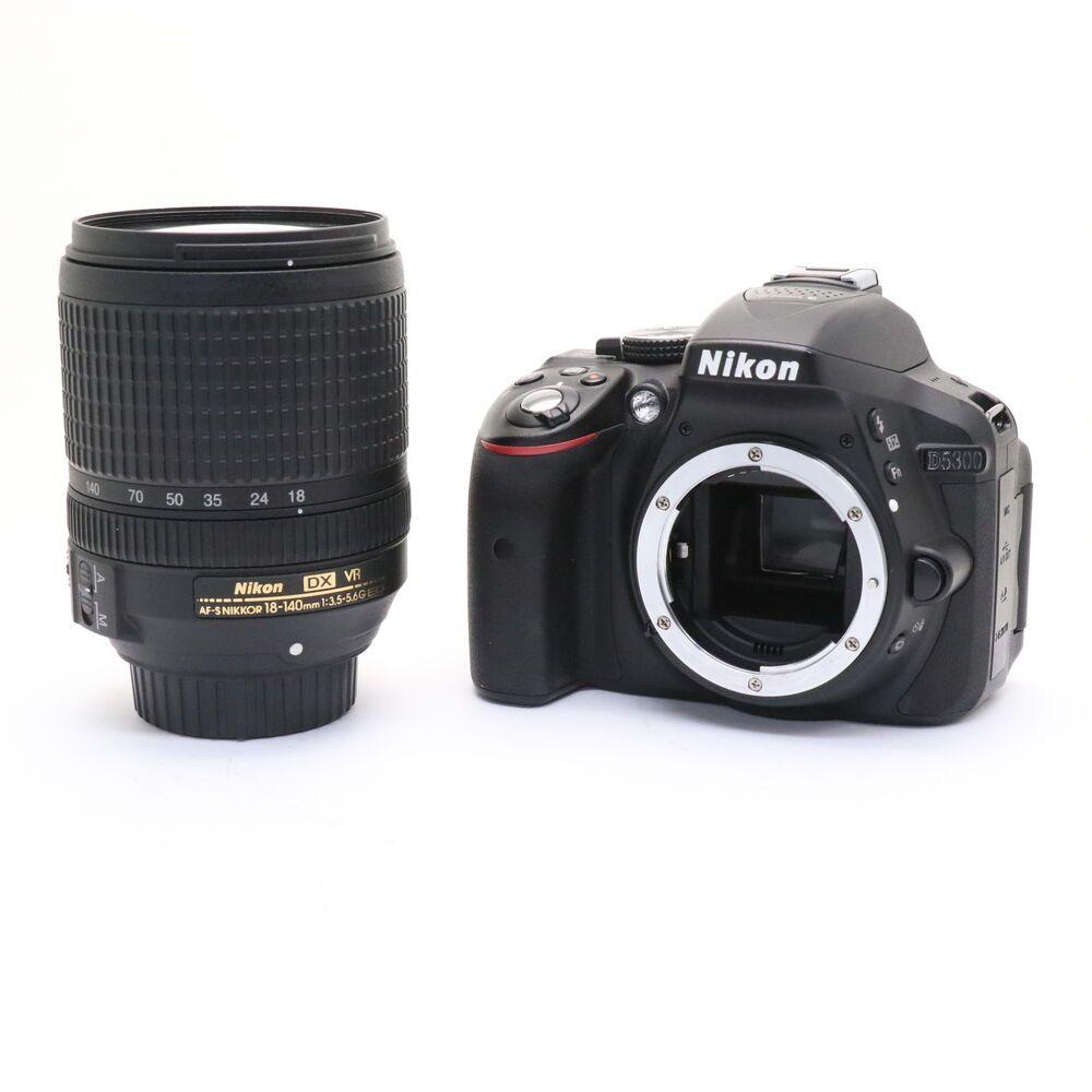 Nikon D5300 Dslr Camera With 18 55mm Lens 24 2mp Full Kit Low Shutter Count Ebay Vr Lens Nikon D7200 Nikon Dslr Camera