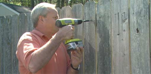 Repairing A Wooden Fence Wooden Fence Fence Fence Nails