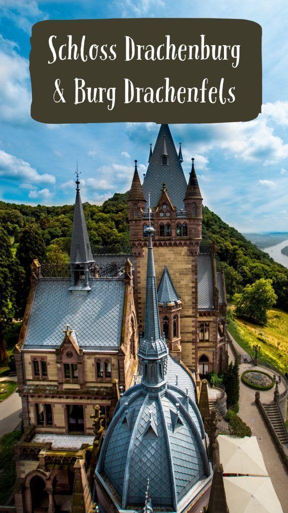 Ausflugsziele - Burg Drachenfels und Schloss Drachenburg