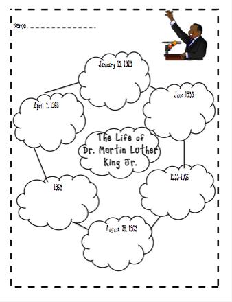 I Teaching MLK Research Project Scribd