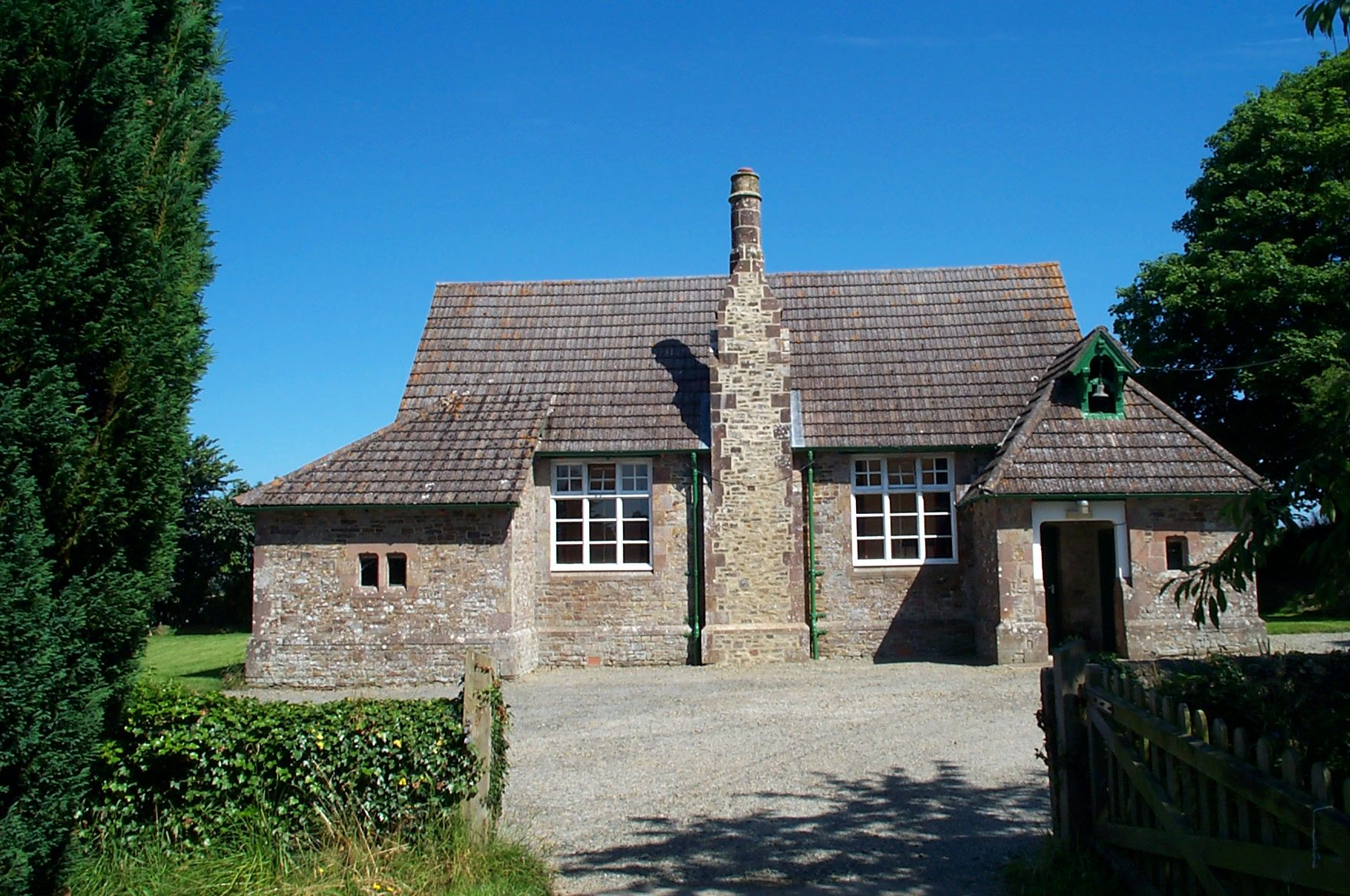 The Old Village School, Broadwoodkelly ( now the village hall)