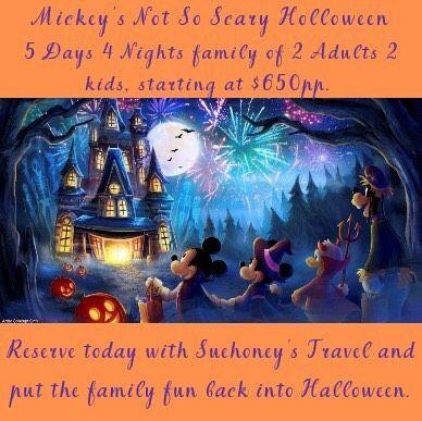Mickey's not so scary Holloween by Suehoney Family fun