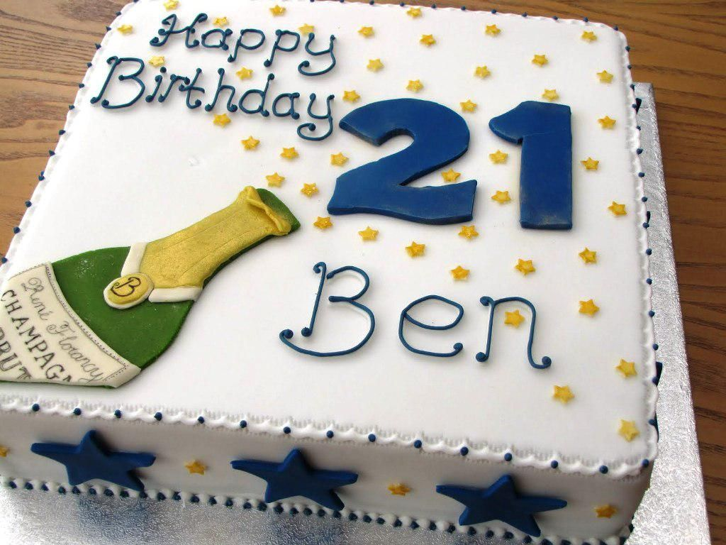 Mens St Birthday Cake Ideas