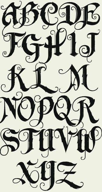Letters  Alphabet    Graffiti Alphabet Fonts And