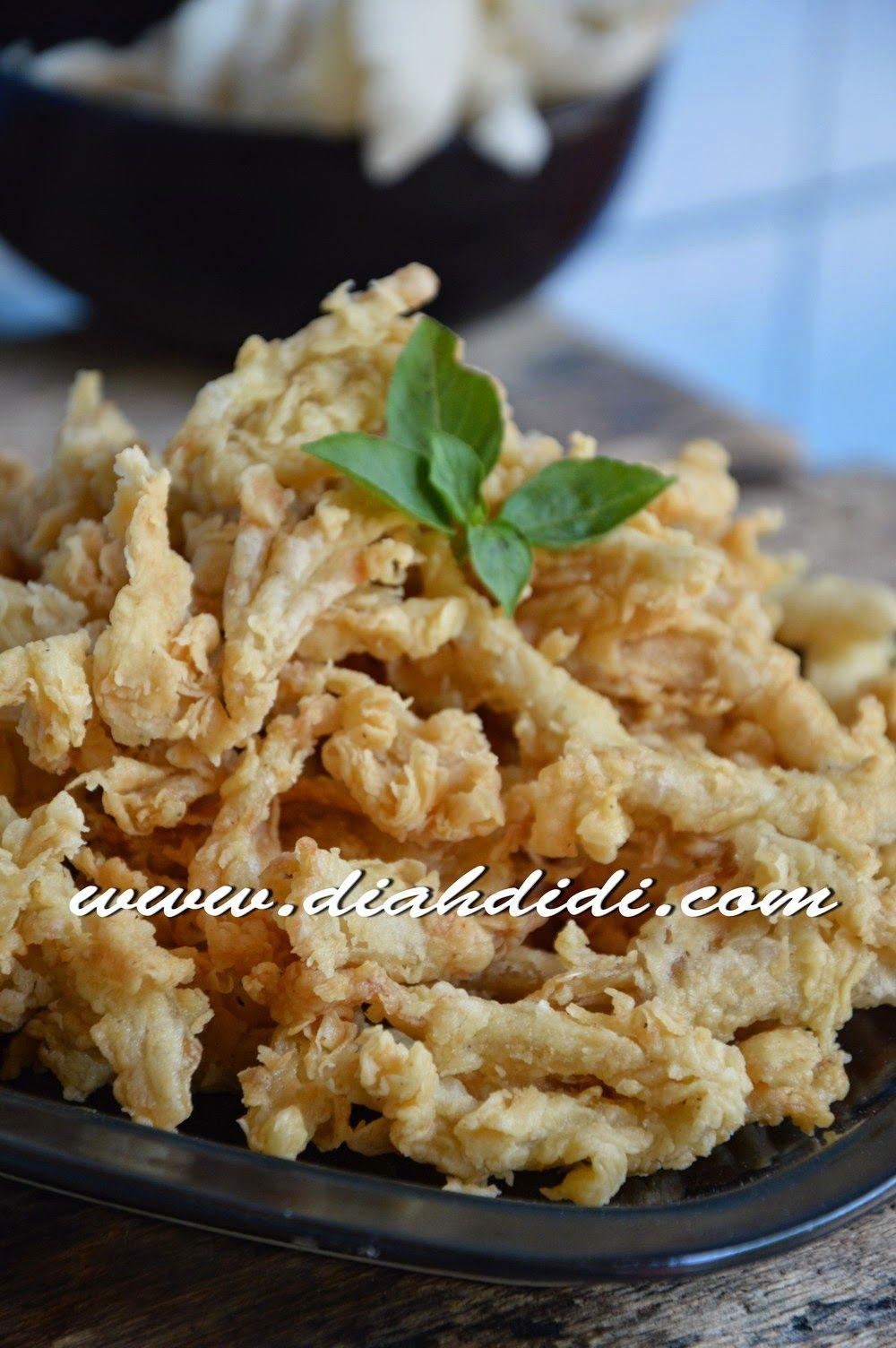 Jamur Crispy Dengan Tepung Crispy Resep Masakan Resep Masakan Malaysia Resep Jamur