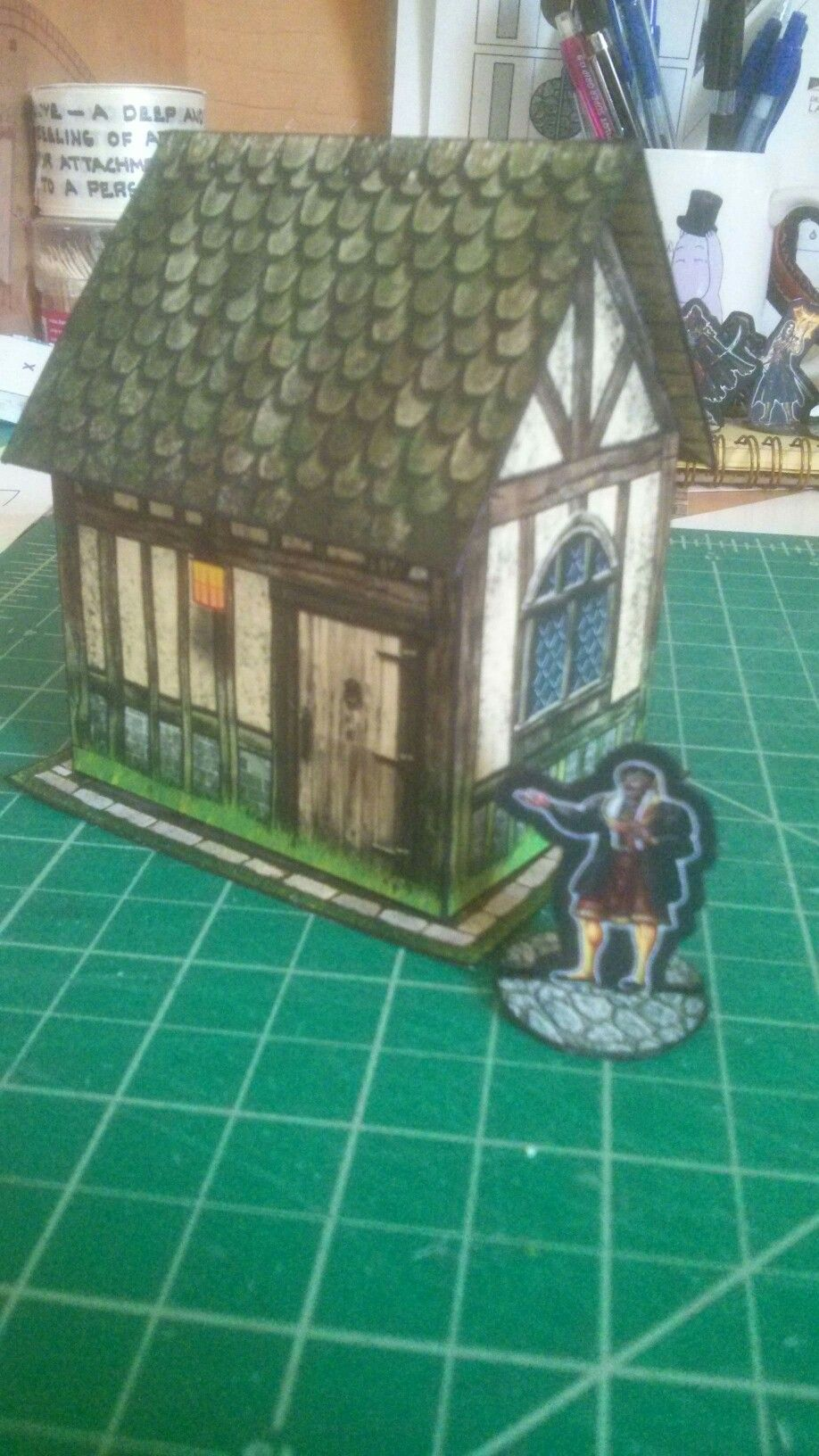 Hovel and merchant - Dave Graffam Models and Kevs Lounge | Paper
