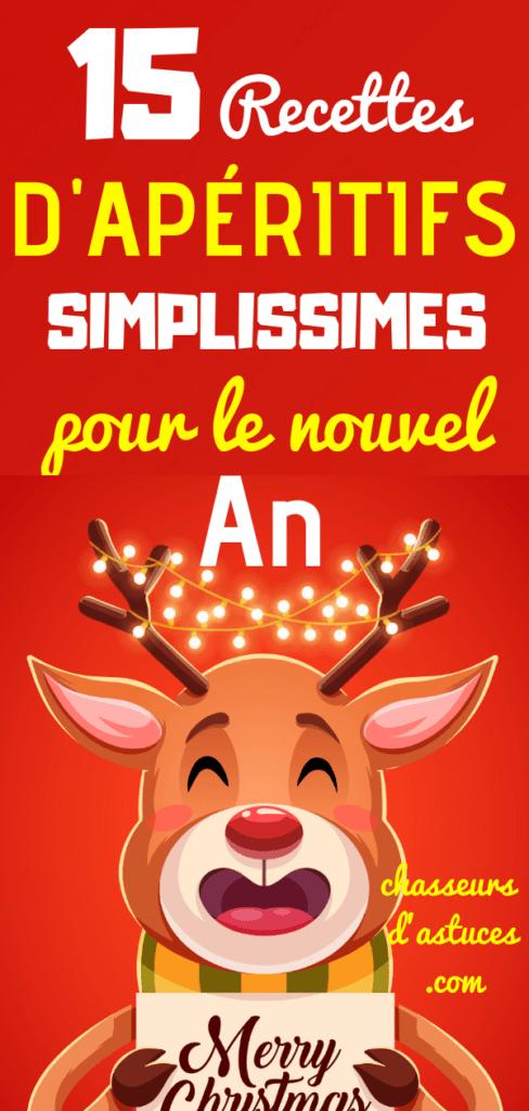 15 Recettes d'apéritifs simplissimes pour le Nouvel An #repasnouvelan