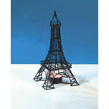 Select This Eiffel Tower Tealight Holder To Light Up Your Event Tables This Black Metal Eiffel Tower Candle Holder Is Tea Light Holder Tea Lights Eiffel Tower