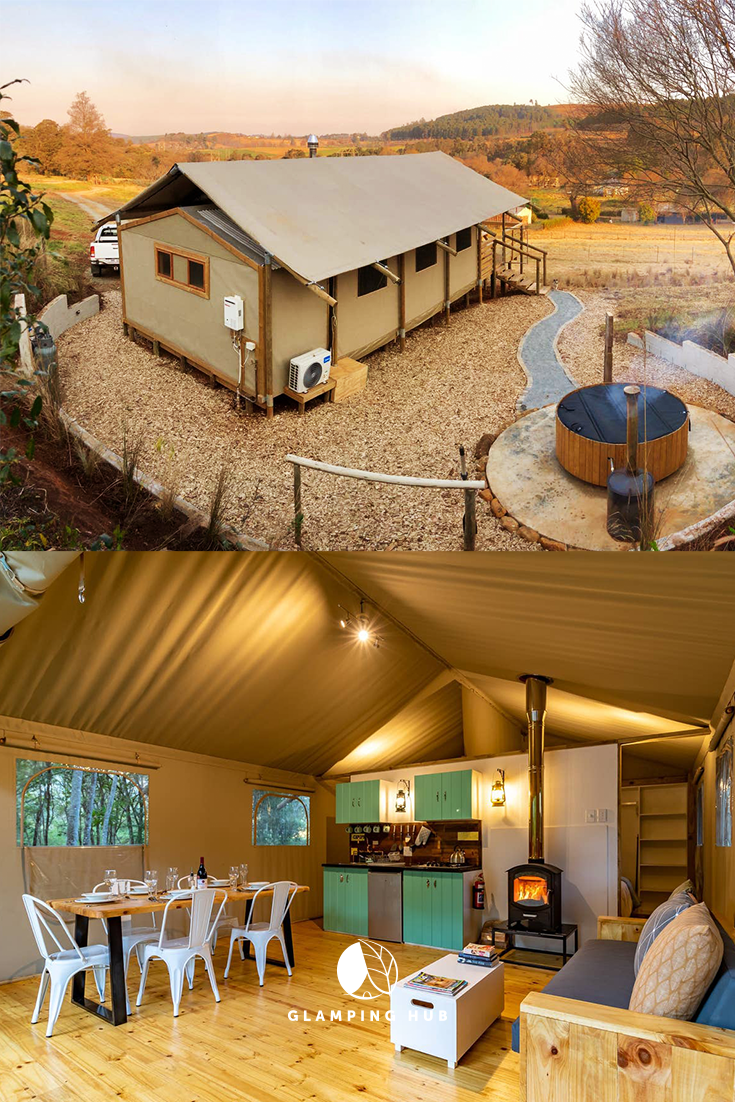 Idyllic Safari Tent With A Hot Tub For A Family Getaway In Kwazulu Natal South Africa Tent Glamping Safari Tent Tent Living